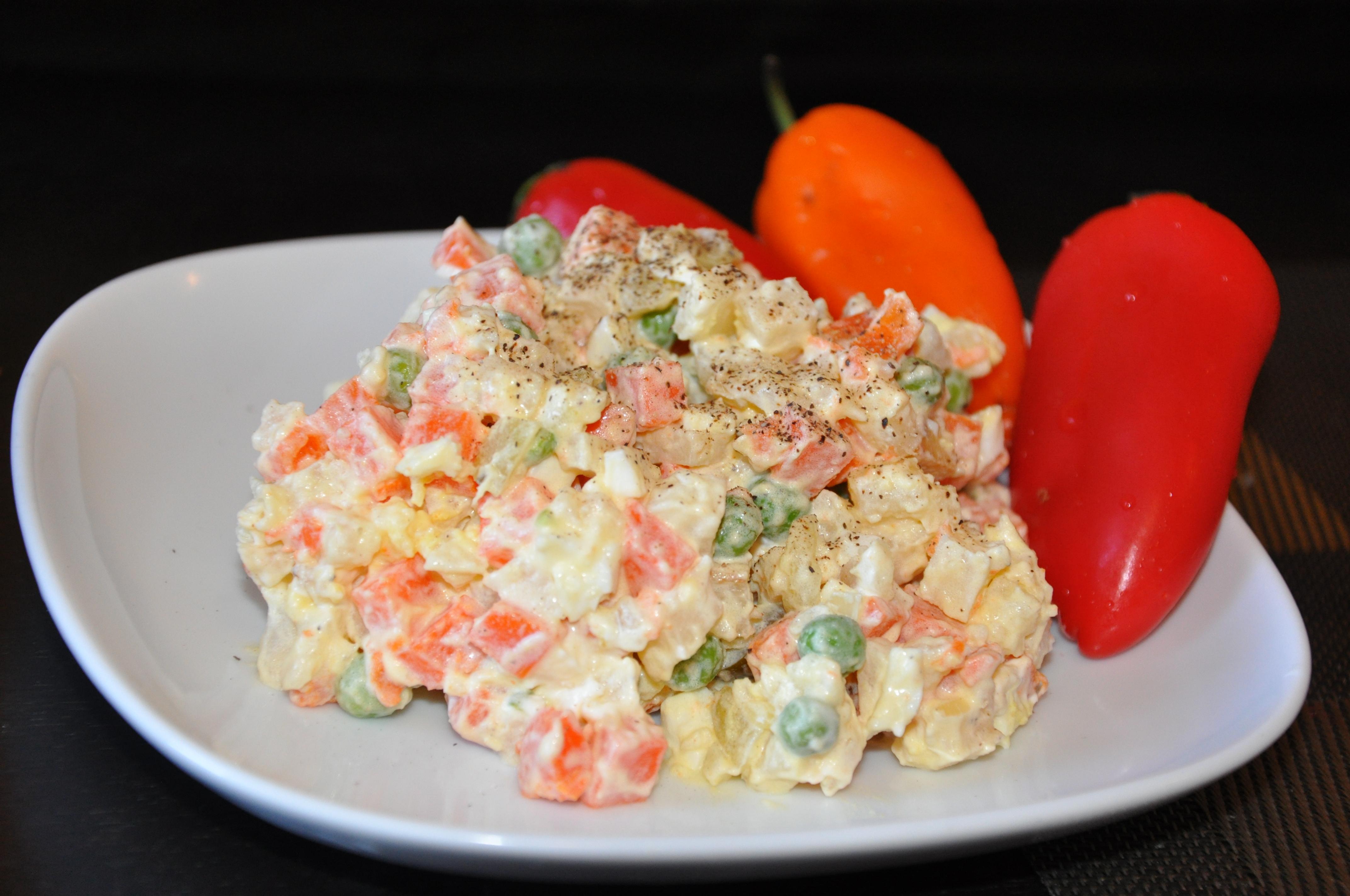 salatka jarzynowa polish vegetable salad 015