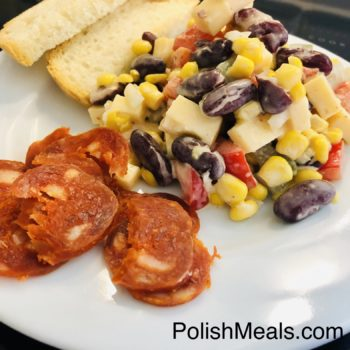 polish-mexican salad