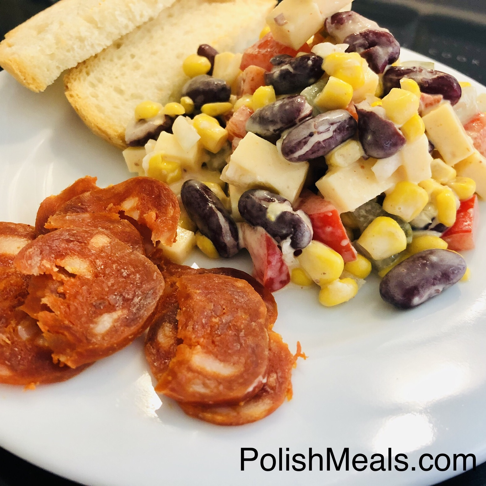 polish-mexican salad