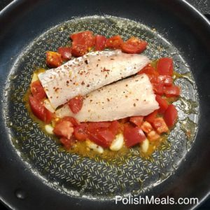 Garlic & Tomato Hake Fish 4