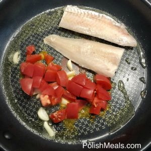 Garlic & Tomato Hake Fish 6